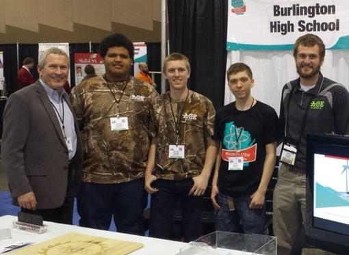 Peter Scherrer and Burlington High School ACE Academy